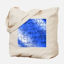 Particle physics equations Tote Bag