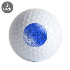 Particle physics equations Golf Ball