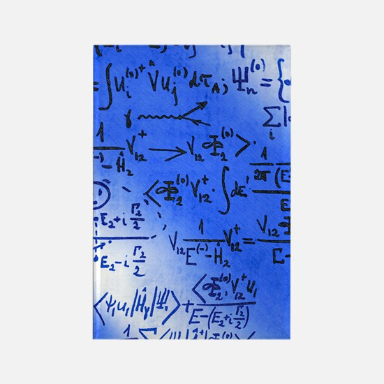 Particle physics equations Rectangle Magnet