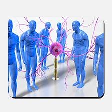 Parkinson's disease, conceptual artwork Mousepad