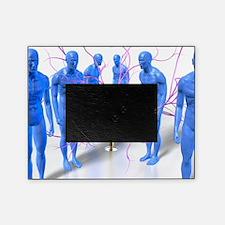 Parkinson's disease, conceptual artw Picture Frame