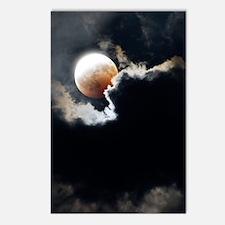 Partial lunar eclipse Postcards (Package of 8)