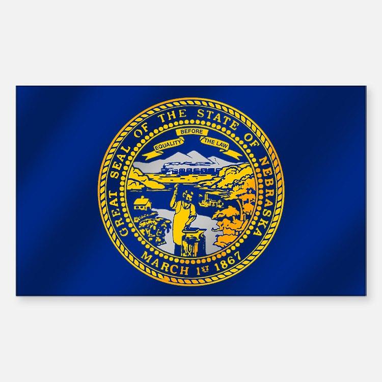 Flag of Nebraska Decal