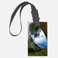 Parabolic solar cooker Luggage Tag