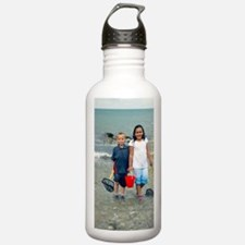 Paddling in the sea Water Bottle