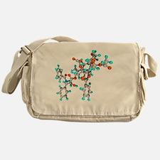 Paclitaxel drug molecule Messenger Bag