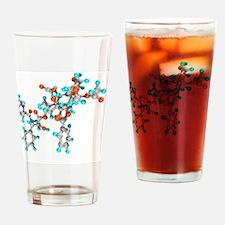Paclitaxel drug molecule Drinking Glass