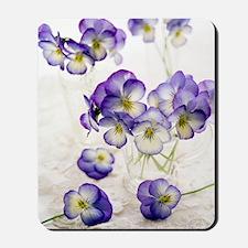 Pansies (Viola sp.) Mousepad