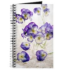 Pansies (Viola sp.) Journal