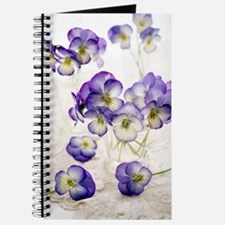Pansies (Viola sp.) Journal