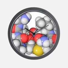 Oxytocin neurotransmitter molecule Wall Clock