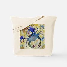 Sandy Crab Tote Bag