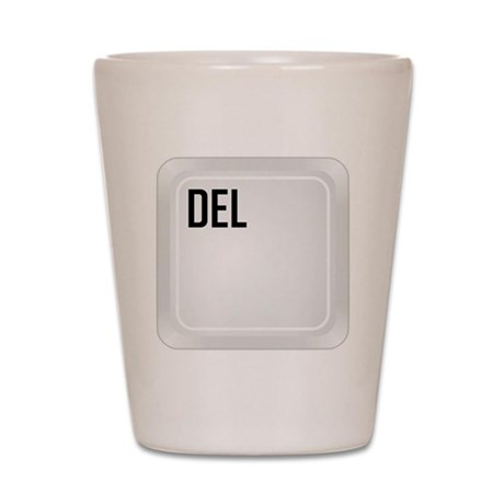 CTRL ALT DEL d1 Shot Glass