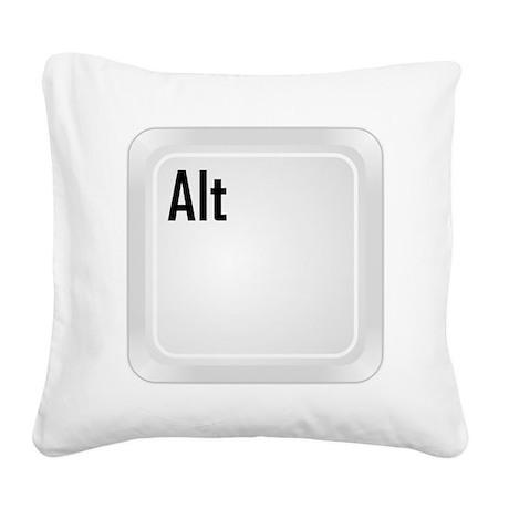 CTRL ALT DEL a2 Square Canvas Pillow
