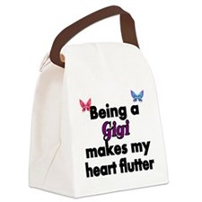 Being a Gigi makes my Heart Flutter Canvas Lunch B