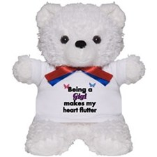 Being a Gigi makes my Heart Flutter Teddy Bear