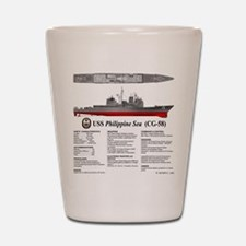 USS Philippine Sea CG-58 Shot Glass