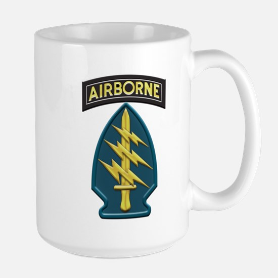 Us Army Special Forces Airborne Insignia Mug Mugs