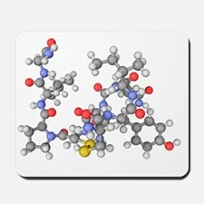 Oxytocin neurotransmitter molecule Mousepad