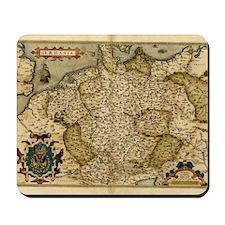 Ortelius's map of Germany, 1570 Mousepad