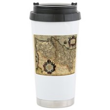 Ortelius's map of Portugal, 157 Travel Mug