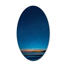 Orion over the Georgia Strai 35x21 Oval Wall Decal