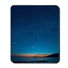 Orion over the Georgia Strait, Canada Mousepad