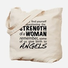 Strength of a Woman Tote Bag