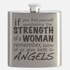 Strength of a Woman Flask