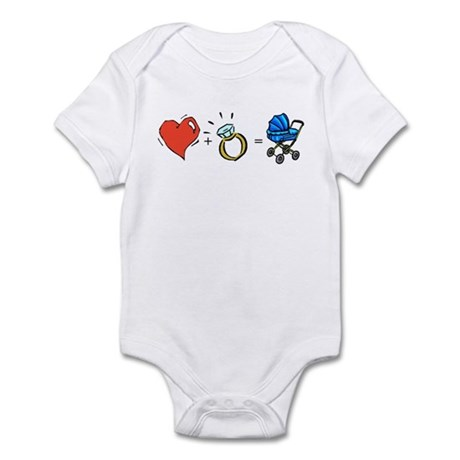First Comes Love Infant Bodysuit