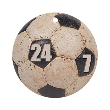 Soccer Nuts Ornament (Round)