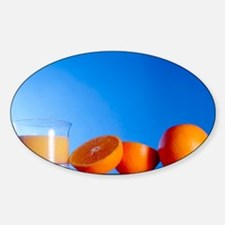 Oranges and orange juice Decal
