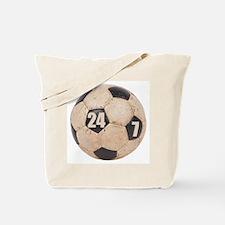 Soccer Nuts Tote Bag