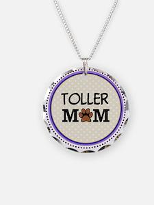 Toller Dog Mom Necklace