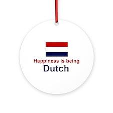 Dutch Happiness Keepsake Ornament