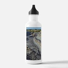 Opencast coal mine Water Bottle