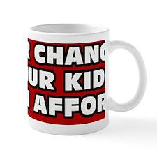 Vote For Change Bumper Mug