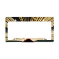 Open book License Plate Holder