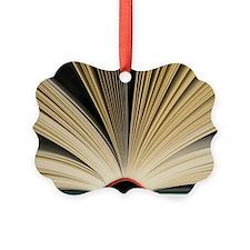 Open book Ornament