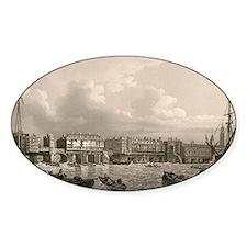 Old London Bridge, 1745 Decal