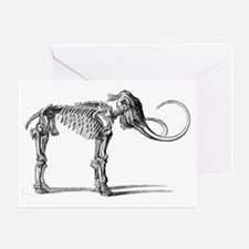 Oncoul Mammoth, 19th century artwork Greeting Card