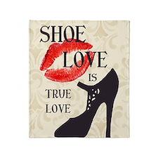 Shoe Love 2 Throw Blanket