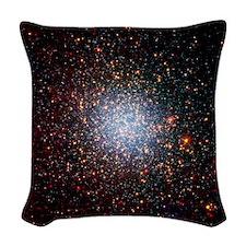 Omega Centauri (NGC 5139) comp Woven Throw Pillow