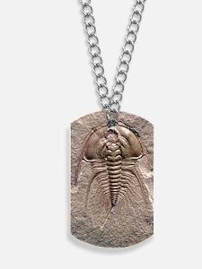 Olenellus gilberti trilobite fossil Dog Tags