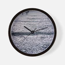 Oil platform Wall Clock