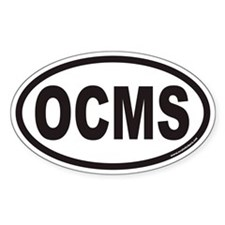 OCMS Euro Oval Decal