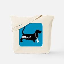 iWoof Basset Tote Bag