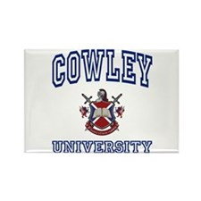 COWLEY University Rectangle Magnet