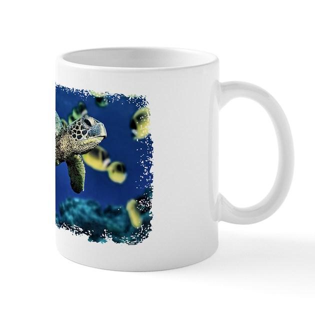 Green Sea Turtle Mug By Admin Cp51644099