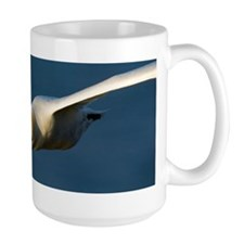 Northern gannet in flight Mug